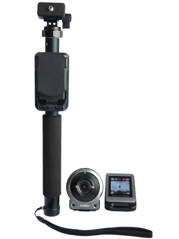 【CASIO】カシオ『EXILIM(エクシリム)』EX-FR10GYSET シルバー マルチアングルスティック デジタルカメラ 1週間保証【中古】b03e/h07AB