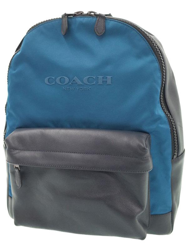【COACH】コーチ『チャールズ バックパック』F59321 ユニセックス 1週間保証【中古】b01b/h02SA
