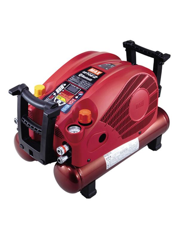 【MAX】マックス『高圧エアコンプレッサ』AK-HL1270E2 レッド 45気圧 11Lタンク 高圧/常圧 静音55dB【中古】b03t/h22S