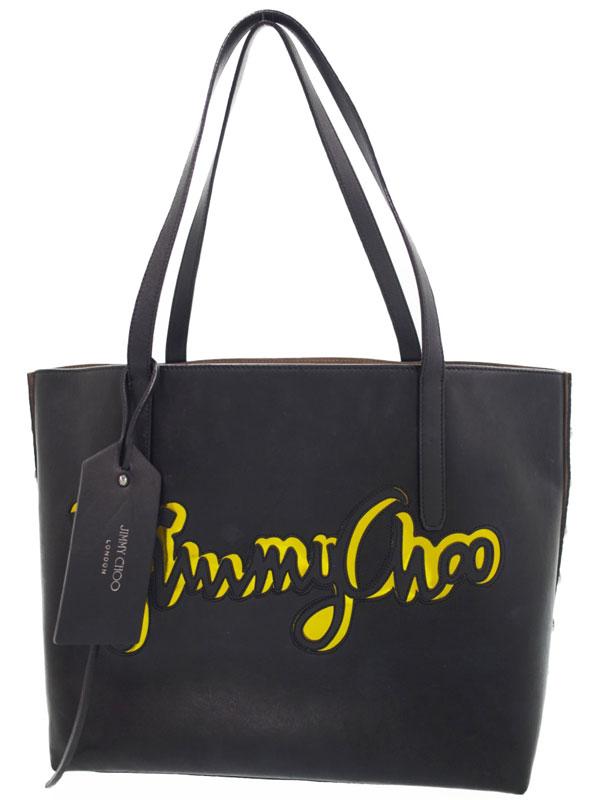 【JIMMY CHOO】ジミーチュウ『PIMLICO ROCK BIG トートバッグ』TWIST EAST WEST JCG メンズ 1週間保証【中古】b03b/h16AB