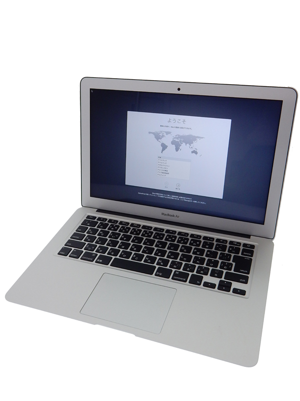 【Apple】アップル『MacBook Air 1800/13.3』MQD32J/A Mid2017 SSD128GB high Sierraノートパソコン 1週間保証【中古】b05e/h10AB