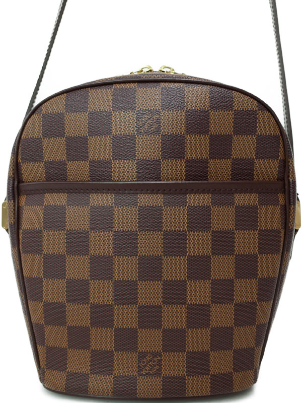 【LOUIS VUITTON】ルイヴィトン『ダミエ イパネマPM』N51294 レディース ショルダーバッグ 1週間保証【中古】b03b/h20A