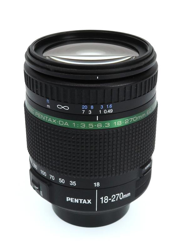 ペンタックス『smc PENTAX-DA 18-270mmF3.5-6.3ED SDM』デジタル一眼レフカメラ用レンズ 1週間保証【中古】b02e/h21AB