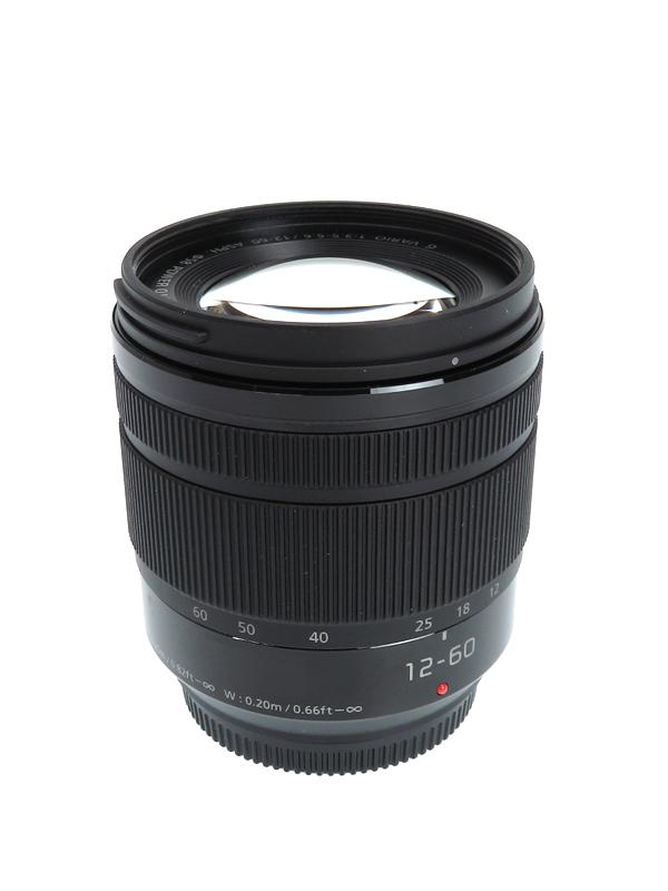 【Panasonic】パナソニック『LUMIX G VARIO 12-60mm F3.5-5.6 ASPH. POWER O.I.S.』H-FS12060 レンズ 1週間保証【中古】b02e/h03AB