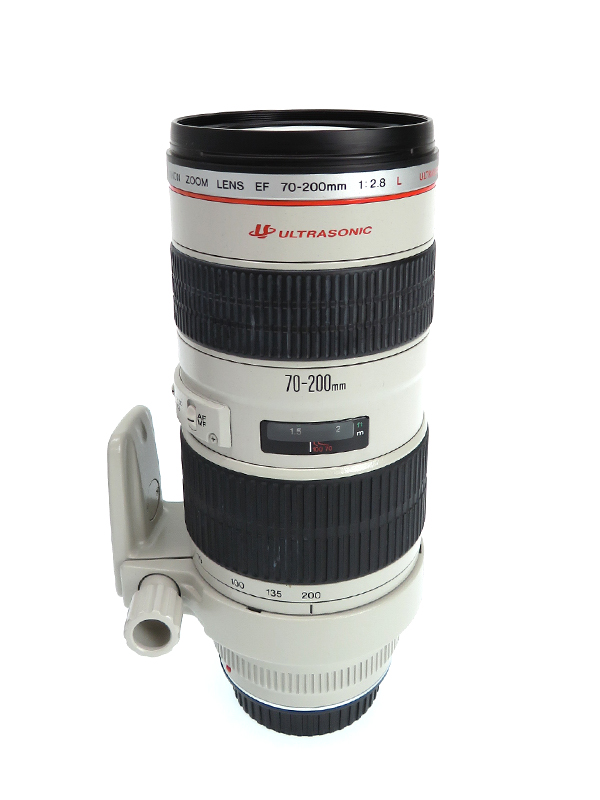 【Canon】キヤノン『EF70-200mm F2.8L USM』EF70-200L レンズ 望遠ズーム キヤノンEFマウント系1週間保証【中古】b02e/h03AB