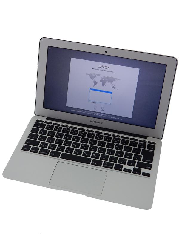 【Apple】アップル『MacBook Air 1300/11.6』MD711J/A Mid 2013 SSD128GB Mountain Lion ノートPC 1週間保証【中古】b02e/h09AB