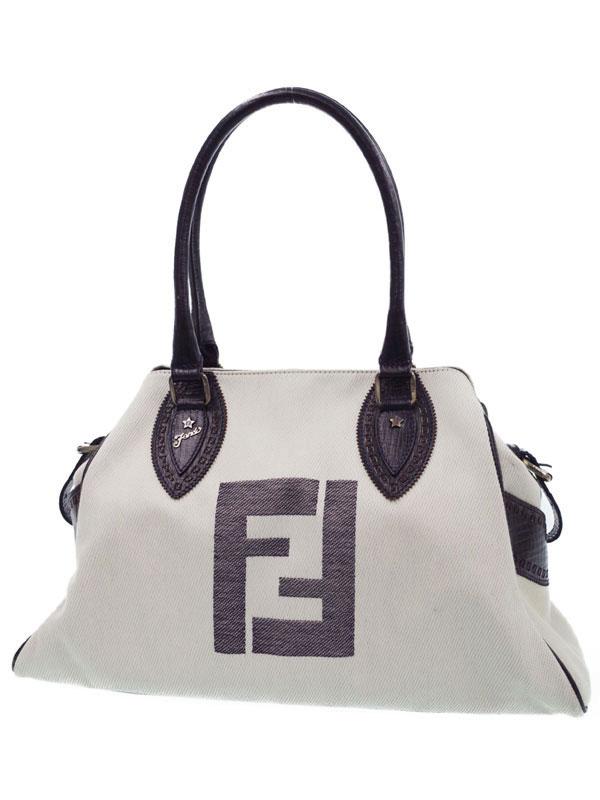 【FENDI】フェンディ『エトニコ トートバッグ』8BN162 レディース 1週間保証【中古】b03b/h13AB