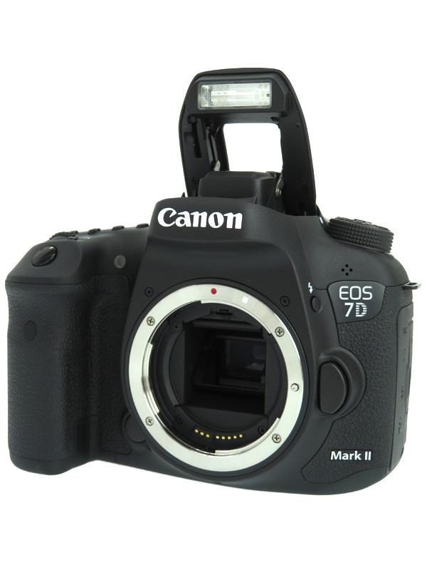 【Canon】キヤノン『EOS 7D Mark II ボディー』EOS7DMK2BODY 2020万画素 デジタル一眼レフカメラ 1週間保証【中古】b06e/h12AB