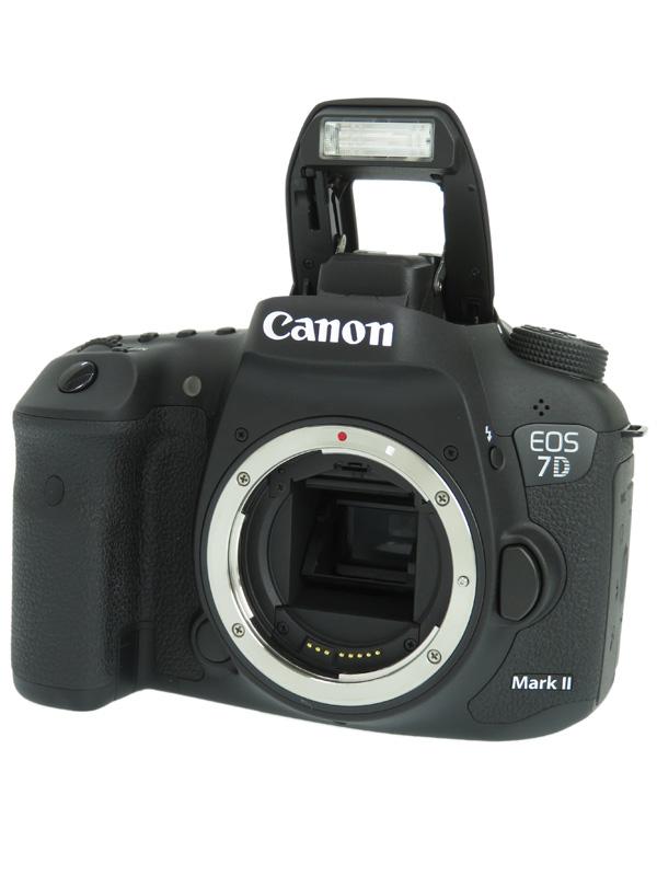 【Canon】キヤノン『EOS 7D Mark II ボディー』EOS7DMK2BODY 2020万画素 デジタル一眼レフカメラ 1週間保証【中古】b05e/h22AB