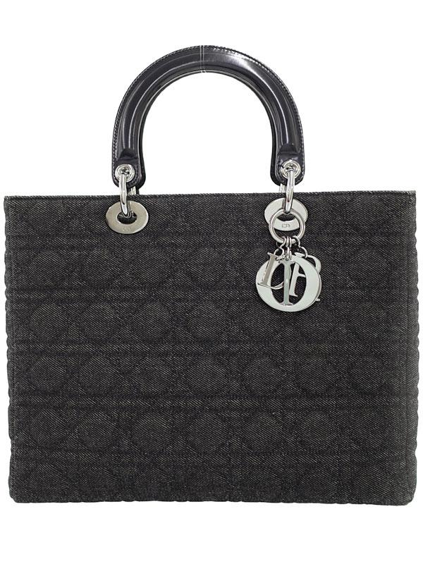 【Christian Dior】クリスチャンディオール『レディディオール(L)』レディース ハンドバッグ 1週間保証【中古】b05b/h11A