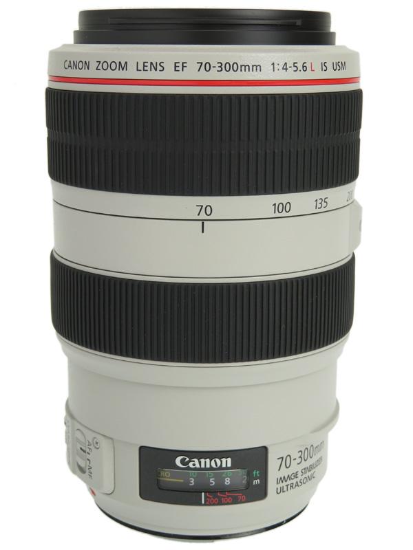 【Canon】キヤノン『EF70-300mm F4-5.6L IS USM』EF70-300LIS デジタル一眼レフカメラ用レンズ 1週間保証【中古】b06e/h17AB