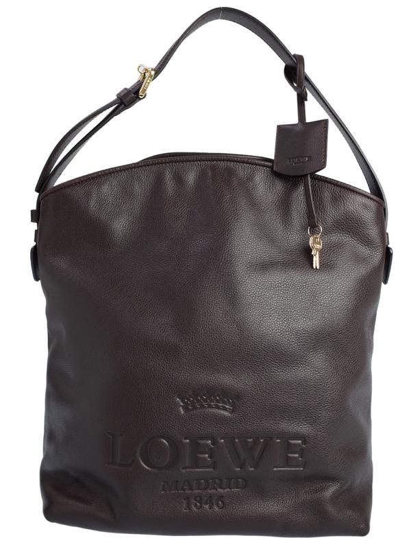 【LOEWE】ロエベ『ヘリテージ セミショルダーバッグ』377.79.B41 レディース 1週間保証【中古】b01b/h02AB