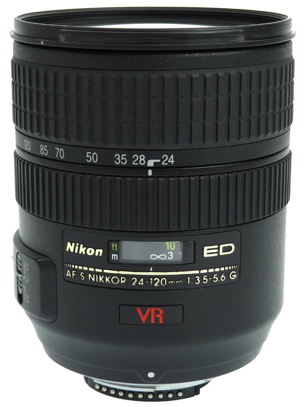 【Nikon】ニコン『AF-S NIKKOR 24-120mm f/3.5-5.6G IF-ED』FXフォーマット デジタル一眼レフカメラ用レンズ 1週間保証【中古】b02e/h02B