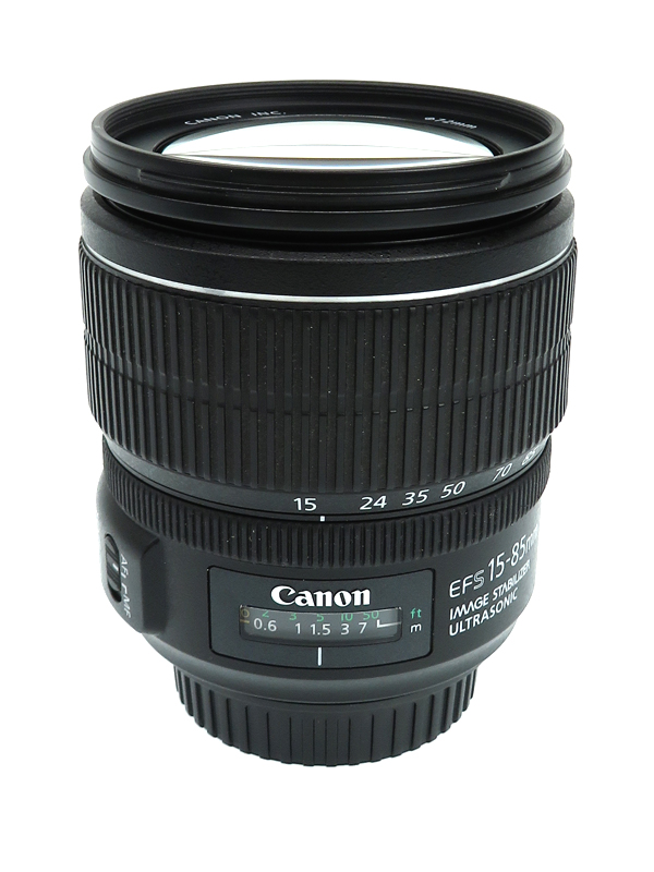 【キヤノン】『EF-S15-85mm F3.5-5.6 IS USM』EF-S15-85IS 24-136mm相当 デジタル一眼レフカメラ用レンズ 1週間保証【中古】b02e/h09AB