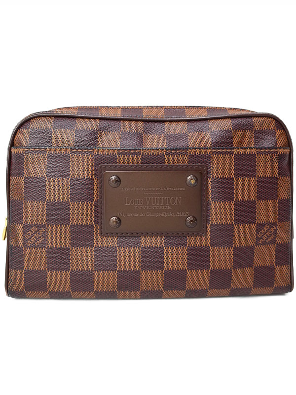 【LOUIS VUITTON】ルイヴィトン『ダミエ メンズ バム バッグ ブルックリン』N41101 メンズ ボディバッグ ボディバッグ 1週間保証 バッグ【中古】b02b/h03B, SHIFT:64d8d856 --- 2chmatome2.site