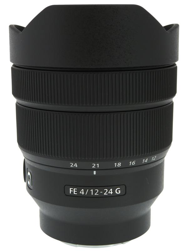 【SONY】ソニー『FE 12-24mm F4 G』SEL1224G Eマウント フルサイズ対応 デジタル一眼カメラ用レンズ 1週間保証【中古】b02e/h04SA