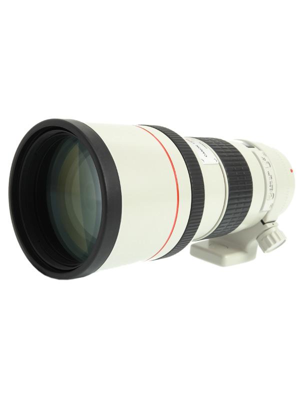 【Canon】キヤノン『EF300mm F4L USM』EF30040L 望遠 諸収差補正 色収差軽減 一眼レフカメラ用レンズ 1週間保証【中古】b02e/h19B