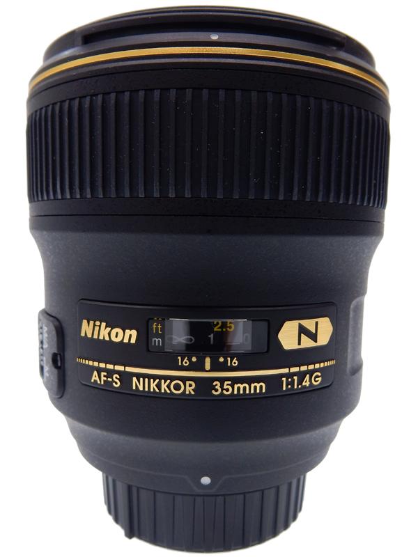 【Nikon】ニコン『AF-S NIKKOR 35mm f/1.4G』ニコンFマウント 風景 夜景 星 大口径広角レンズ 2010年11月発売 レンズ 1週間保証【中古】b06e/h17AB