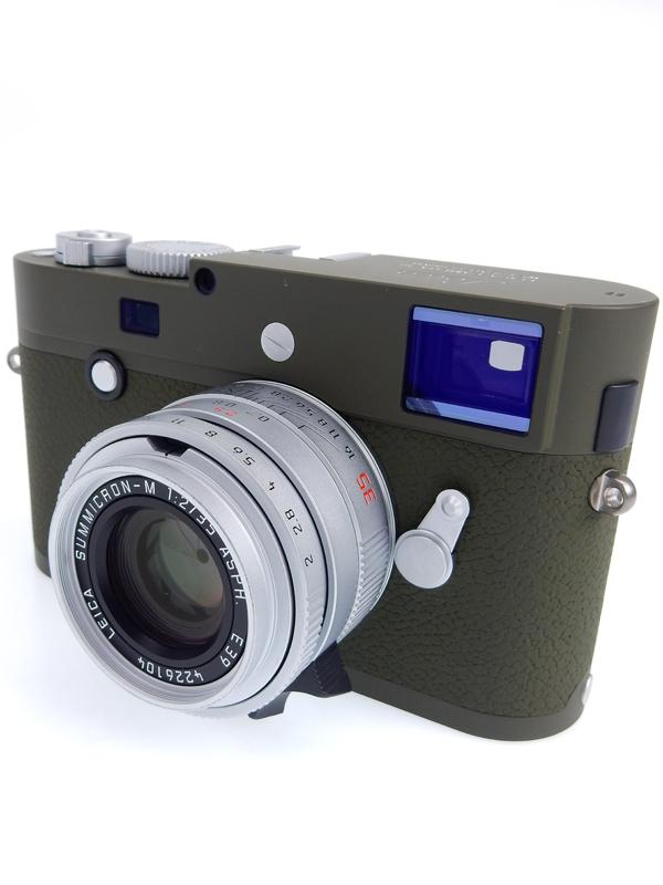 【Leica】ライカ『LEICA M-P(Typ240)サファリセット』10933 オリーブグリーン 2400万画素 フルサイズ デジタルレンジファインダーカメラ 1週間保証【中古】b03e/h20AB