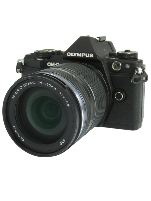 【OLYMPUS】オリンパス『OLYMPUS OM-D E-M5 Mark II 14-150mm II レンズキット』ブラック ミラーレス一眼カメラ 1週間保証【中古】b03e/h12AB