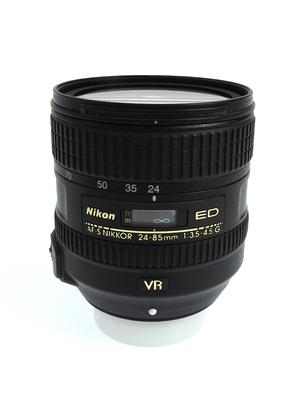 ニコン『AF-S NIKKOR 24-85mm f/3.5-4.5G ED VR』AFSVR2485G FXフォーマット デジタル一眼レフカメラ用レンズ 1週間保証【中古】b06e/h17B