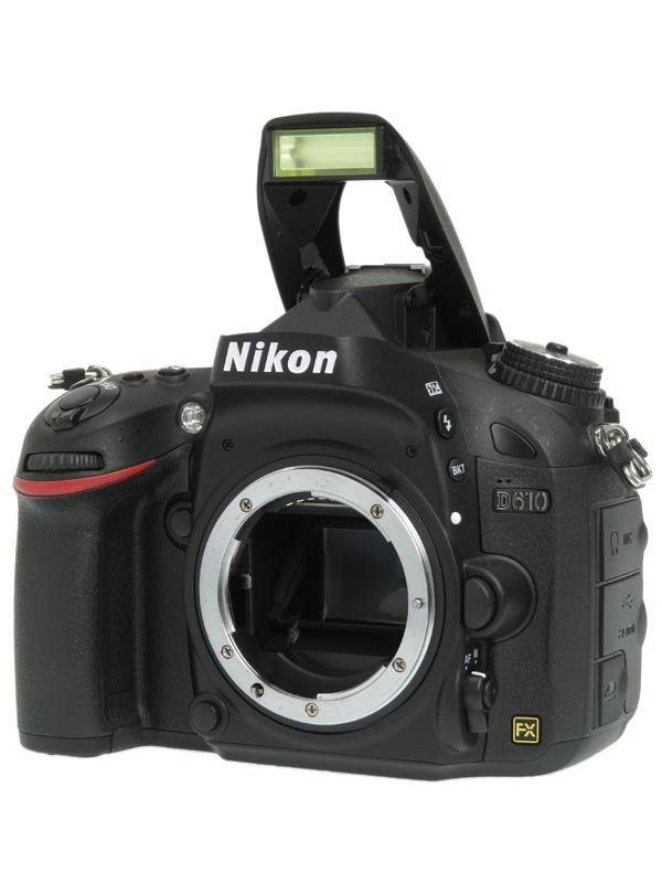 【Nikon】ニコン『D610』2426万画素 FXフォーマット ISO6400 フルHD動画 ボディー デジタル一眼レフカメラ 1週間保証【中古】b06e/h17AB