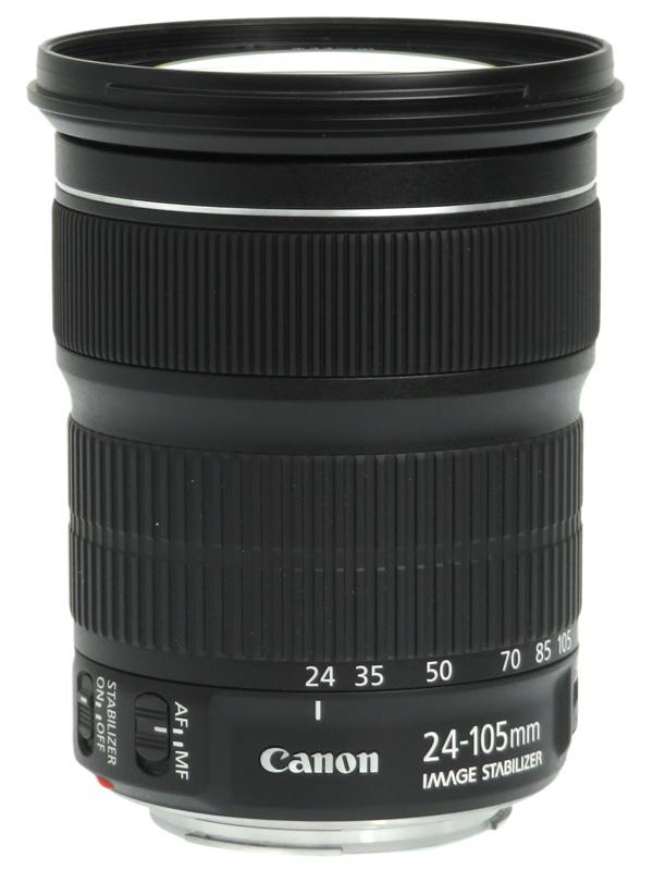 【Canon】キヤノン『EF24-105mm F3.5-5.6 IS STM』EF24-105ISSTM 非球面 標準ズーム 一眼レフカメラ用レンズ 1週間保証【中古】b06e/h18AB