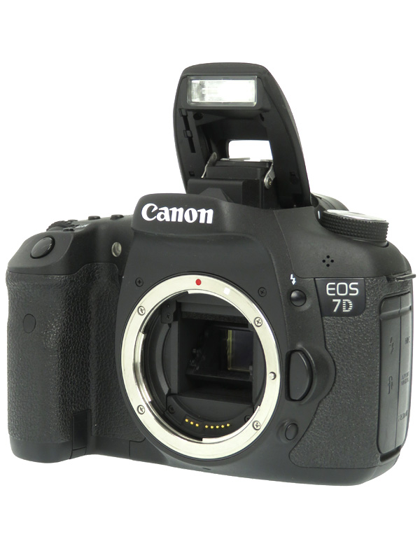 【Canon】キヤノン『EOS 7Dボディー』EOS7DBODY APS-C 1800万画素 フルHD動画 CFカード デジタル一眼レフカメラ 1週間保証【中古】b02e/h03AB