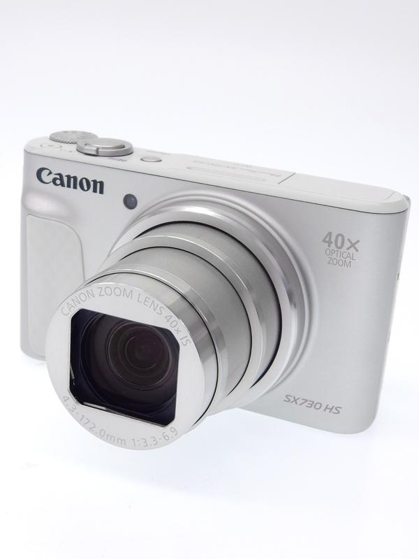 【Canon】キヤノン『PowerShot SX730 HS』PSSX730HS シルバー 2030万画素 光学40倍 3インチ SDXC Wi-Fi Bluetooth コンパクトデジタルカメラ 1週間保証【中古】b02e/h13A