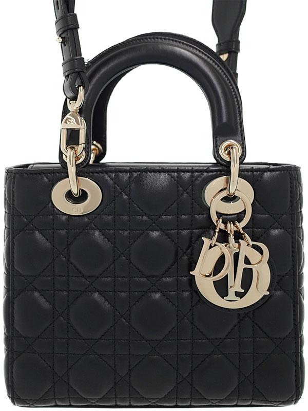 【Christian Dior】【カナージュ】クリスチャンディオール『マイレディディオール (S)』M05320CAL レディース 2WAYバッグ 1週間保証【中古】b06b/h17AB