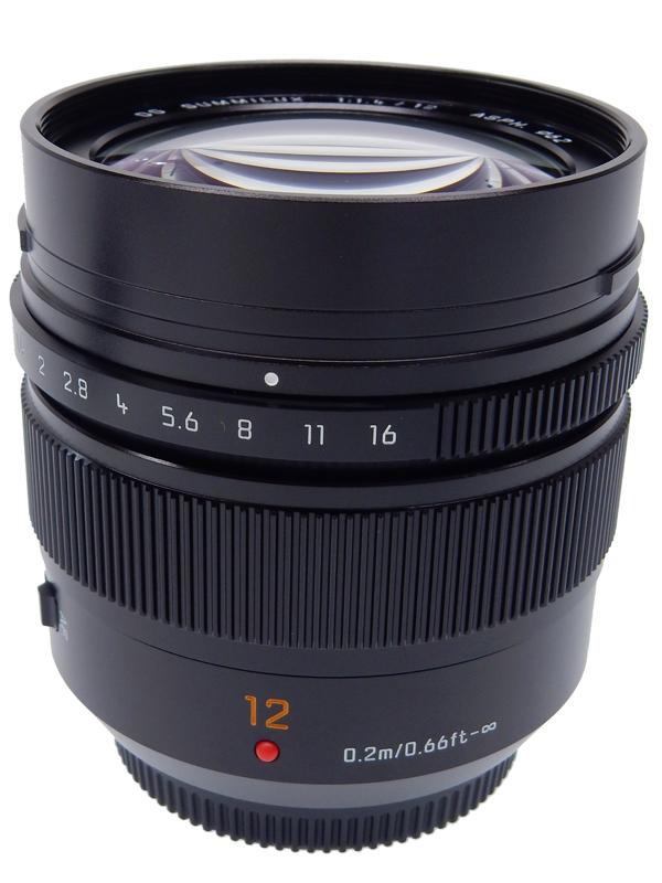 【Panasonic】パナソニック『LUMIX G LEICA DG SUMMILUX 12mm F1.4 ASPH.』H-X012 マイクロフォーサーズマウント 単焦点 防塵 防滴 レンズ 1週間保証【中古】b02e/h12S