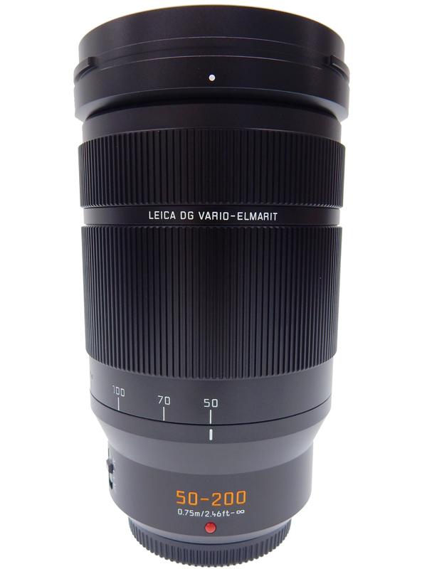 【Panasonic】パナソニック『LUMIX G LEICA DG VARIO-ELMARIT 50-200mm F2.8-4.0 ASPH.』H-ES50200 2018年発売 マイクロフォーサーズ レンズ 1週間保証【中古】b02e/h12S