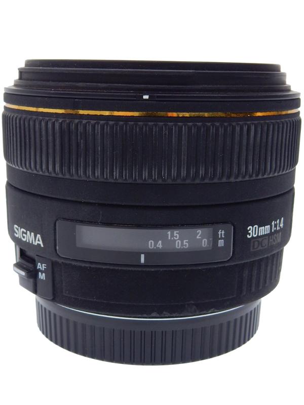 【SIGMA】シグマ『30mm F1.4 EX DC HSM / EX DC』2005年発売 キヤノンEFマウント 単焦点 デジタル専用大口径標準レンズ 1週間保証【中古】b05e/h22AB, 豊栄町:bc72515d --- benqdirect.jp