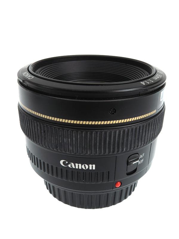 キヤノン『EF50mm F1.4 USM』EF5014U レンズ F1.4 単焦点 キヤノンEFマウント系 1週間保証【中古】b02e/h19B