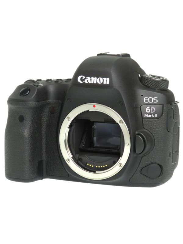 【Canon】キヤノン『EOS 6D Mark II ボディ』2620万画素 SDXC Wi-Fi デジタル一眼レフカメラ 1週間保証【中古】b06e/h17AB