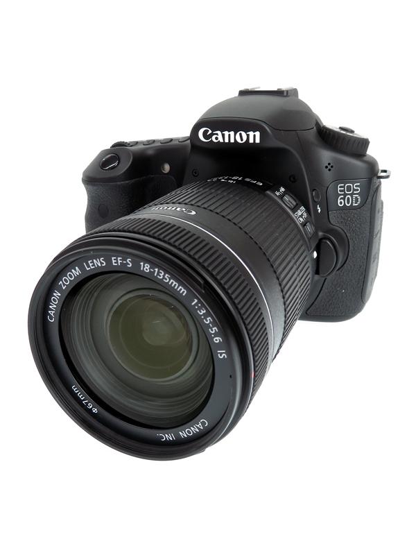 【Canon】キヤノン『EOS 60D EF-S18-135 IS レンズキット』1800万画素 バリアングル フルHD動画 デジタル一眼レフカメラ 1週間保証【中古】b02e/h03AB
