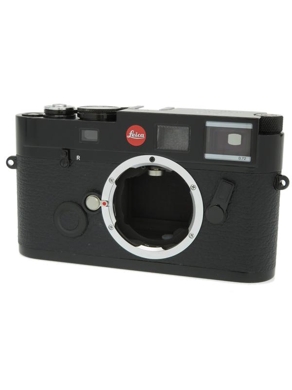 【Leica】ライカ『LEICA M6 TTL 0.72 ミレニアム ブラックペイント』10442 2000台限定 レンジファインダーカメラ 1週間保証【中古】b03e/h20B