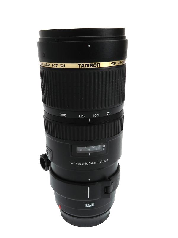 【TAMRON】タムロン『SP 70-200mm F/2.8 Di VC USD』A009E キヤノンEFマウント デジタル一眼レフカメラ用レンズ 1週間保証【中古】b03e/h20B