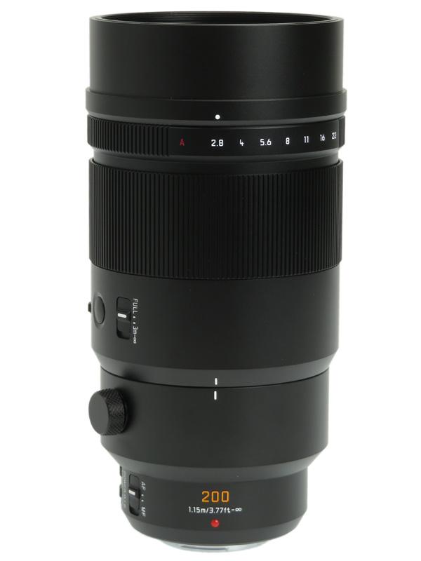 【Panasonic】パナソニック『LEICA DG ELMARIT 200mm F2.8 POWER O.I.S.』H-ES200 400mm相当 一眼カメラ用レンズ 1週間保証【中古】b03e/h12A