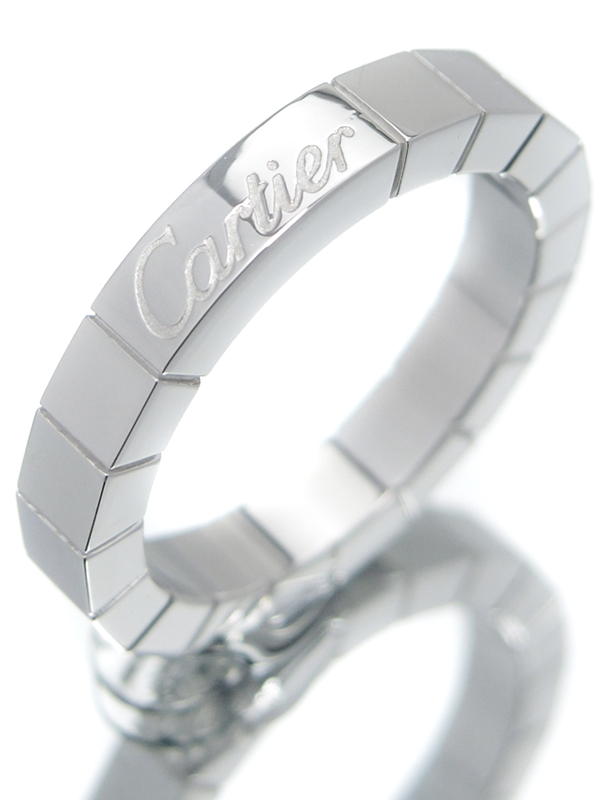 【Cartier】【仕上済】カルティエ『ラニエール リング』6号 1週間保証【中古】b02j/h13A