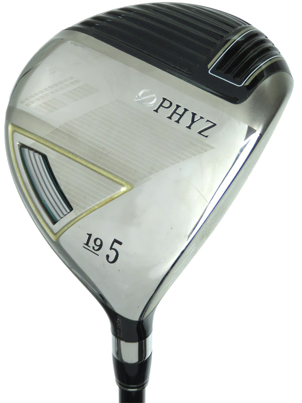 【BRIDGESTONE GOLF】ブリヂストンゴルフ『PHYZ III フェアウェイウッド #5 19° フレックスSR』右利き ゴルフクラブ 1週間保証【中古】b02e/h03B