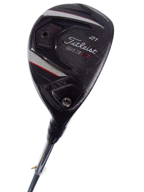 【Titleist】タイトリスト『913H ユーティリティー 21° N.S.PRO950GH フレックスS』2013年モデル メンズ 右利き ゴルフクラブ 1週間保証【中古】b02e/h03B