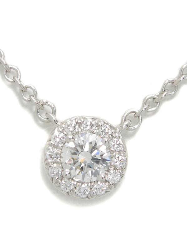 【TIFFANY&Co.】ティファニー『ソレスト ダイヤモンド ネックレス』1週間保証【中古】b01j/h21A