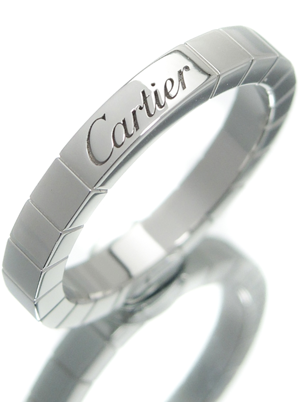 【Cartier】【仕上済】カルティエ『ラニエール リング』12号 1週間保証【中古】b01j/h08SA