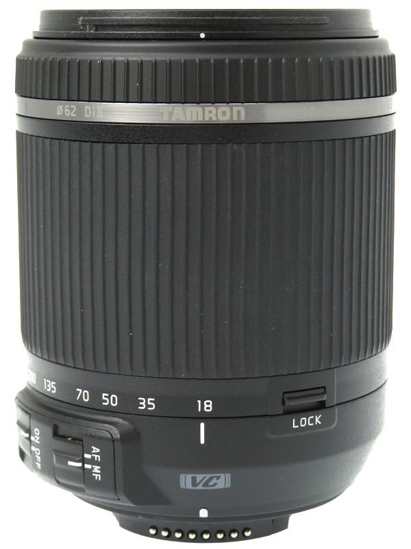 【TAMRON】タムロン『18-200mm F/3.5-6.3 Di II VC』B018N ニコン用 28-310mm相当 APS-Cデジタル一眼レフカメラ用レンズ 1週間保証【中古】b03e/h20AB