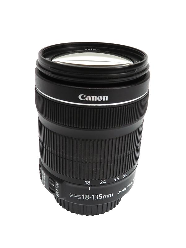 【Canon】キヤノン『EF-S18-135mm F3.5-5.6 IS STM』EF-S18-135ISSTM デジタル一眼レフカメラ用レンズ 1週間保証【中古】b03e/h08AB