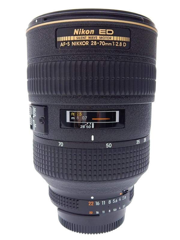 【Nikon】ニコン『Ai AF-S Zoom Nikkor ED 28-70mm F2.8D(IF)』ブラック 一眼レフカメラ用レンズ 1週間保証【中古】b02e/h02AB