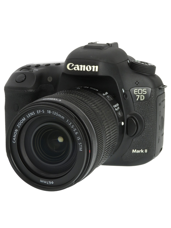 【Canon】キヤノン『EOS 7D Mark II EF-S18-135 IS STMレンズキット』2020万画素 デジタル一眼レフカメラ 1週間保証【中古】b03e/h06AB