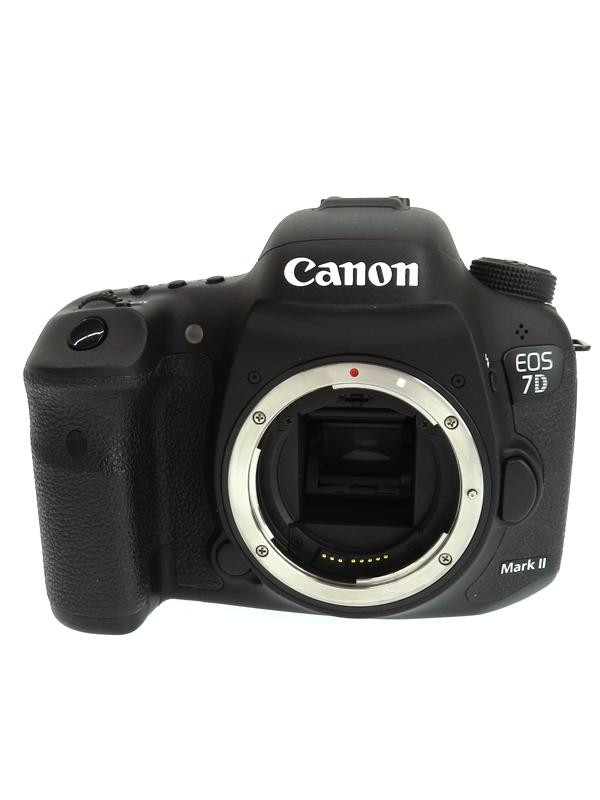 【Canon】キヤノン『EOS 7D Mark II(G)ボディー』9128B001 キヤノンEFマウント ISO16000 デジタル一眼レフカメラ 1週間保証【中古】b02e/h09B