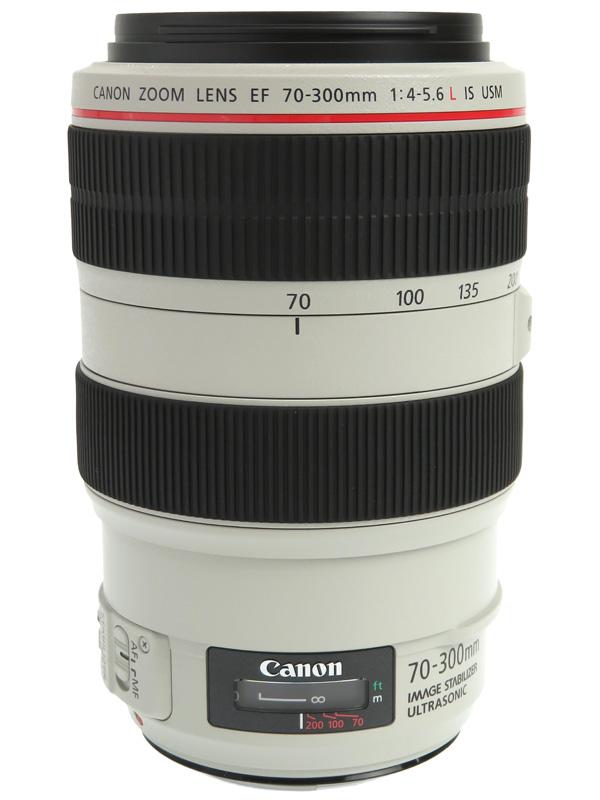 【Canon】キヤノン『EF70-300mm F4-5.6L IS USM』EF70-300LIS デジタル一眼レフカメラ用レンズ 1週間保証【中古】b02e/h03SA